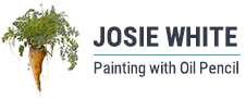 Josie White Art – Portrait & Botanical Artist Logo